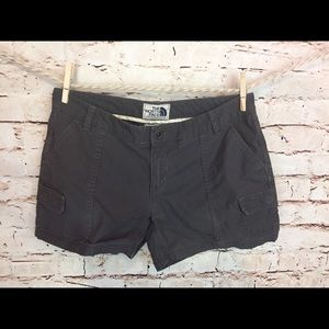 The North Face Shorts Mini Cargo Gray Size 8